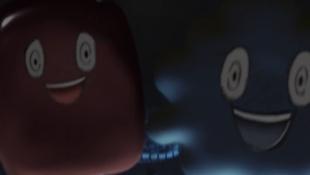 タラちゃん・レバちゃんは、鎌田倫子(吉高由里子)の妄想上のキャラクターこわーい、タラちゃん・レバちゃんに変身2