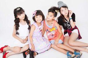 4人の女の子で構成されるアイドルユニット・アイドルグループ「ミラクルキャンディーベリー」山田美紅羽も2